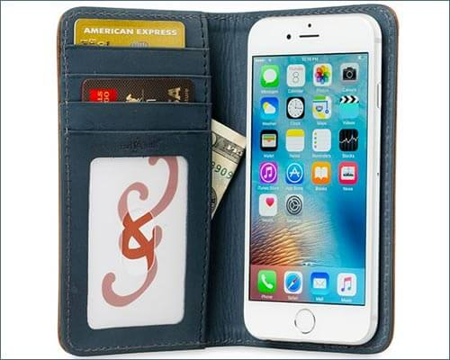 Bella Fino Pad and Quill iPhone 8 Wallet Case