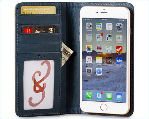 Bella Fino iPhone 7 Plus Leather Case