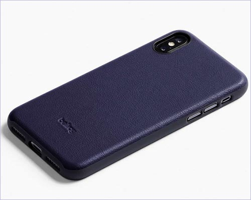 Bellroy iPhone X Leather Bumper Case