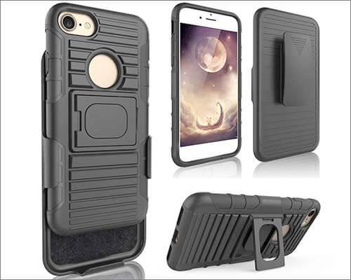 Benzob iPhone 7 Belt Clip Case