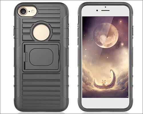Benzob iPhone 8 Belt Clip Case