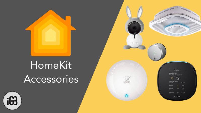 Best Apple HomeKit Accessories