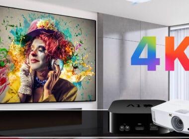 Best Apple TV 4K Projectors