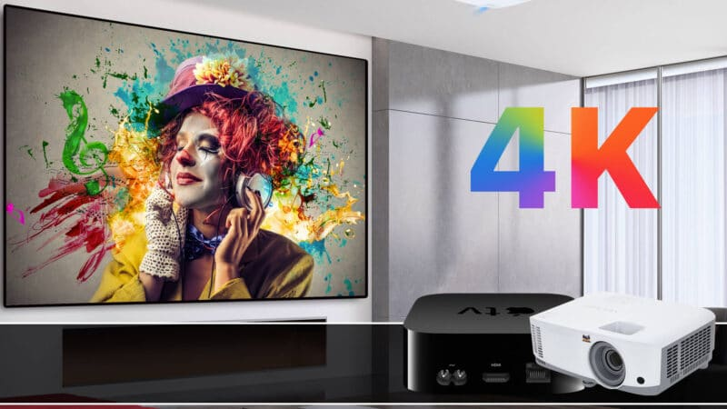 Best Apple TV 4K Projectors