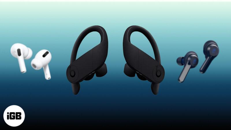 Best Bluetooth Headphones For Apple Watch