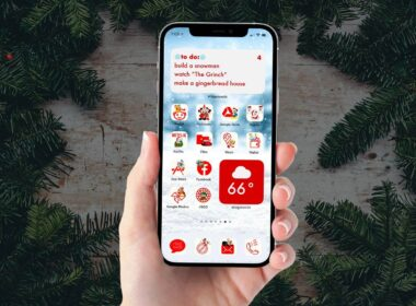 Best Christmas Aesthetic App Icons for iOS 14