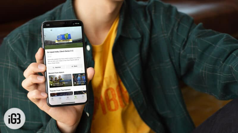Best Cricket Live Streaming Apps for iPhone and iPad