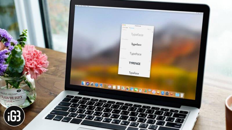 Best Font Management Software for Mac