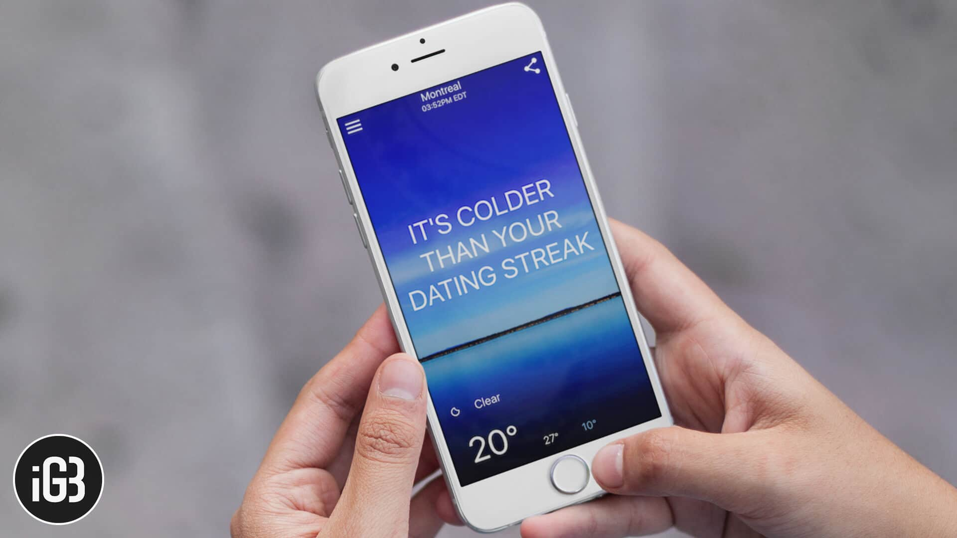 Best Funny Weather Apps For Iphone And Ipad In 2021