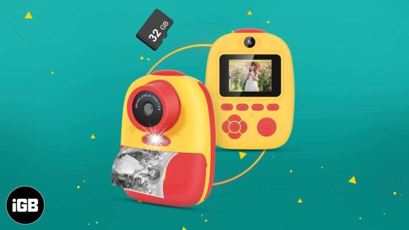 Best Instant Cameras for Kids