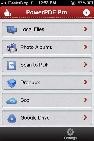 Best PDF Creator Editor and Merger for iPhone