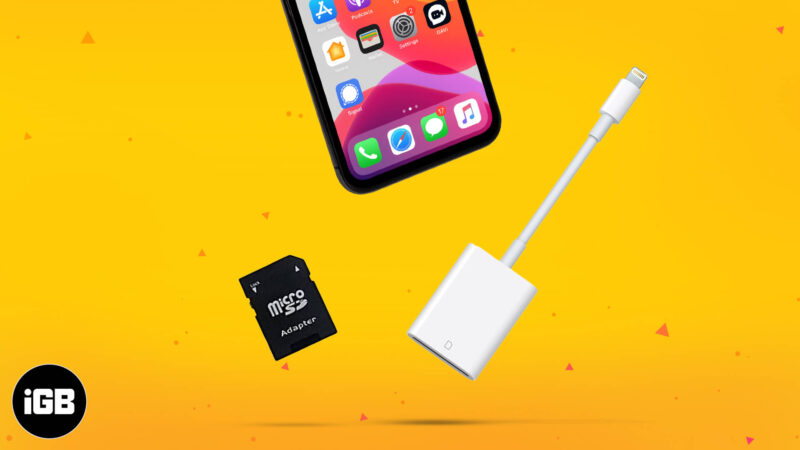 Best SD card reader for iPhone and iPad