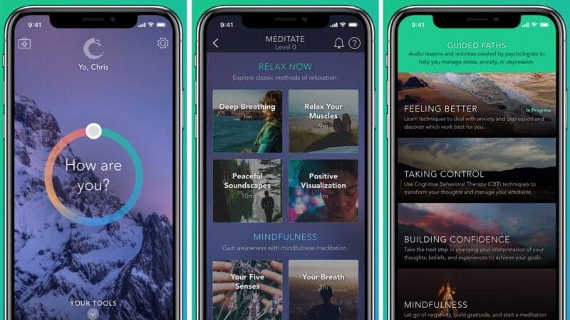 Best Stress-Relieving Apps for iPhone and iPad