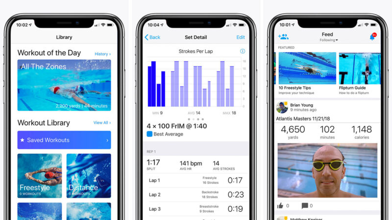 Best Swimming Apps for iPhone and iPad