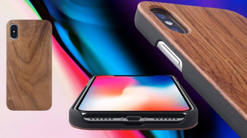 Best Wooden Cases for iPhone X