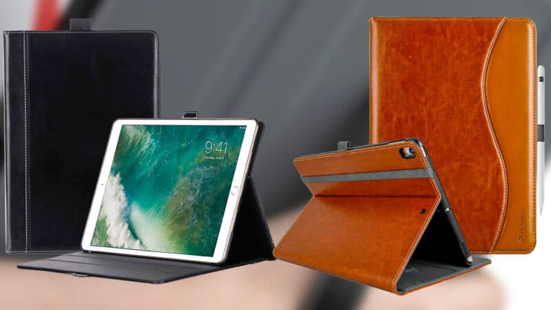 Best iPad Air 10.5-inch Leather Cases