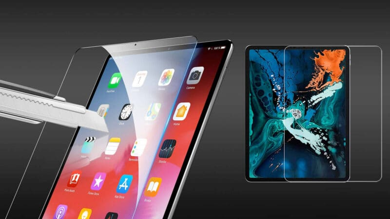 Best iPad Pro 12.9-inch 2018 Tempered Glass Screen Protectors