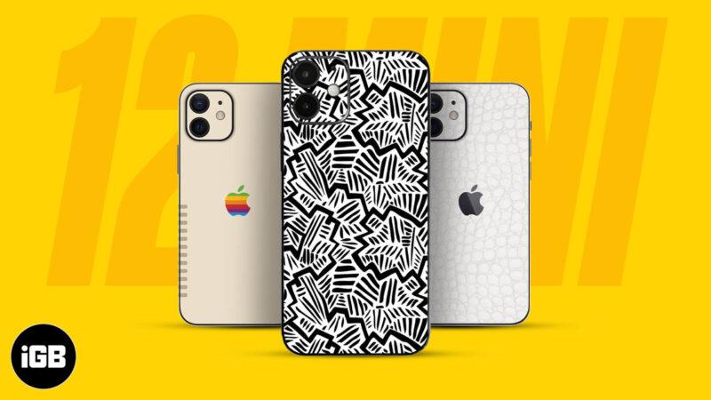 Best iPhone 12 Mini Skins