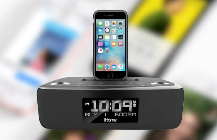 Best iPhone SE, 5s, and iPhone 5 Clock Radio Docking Stations