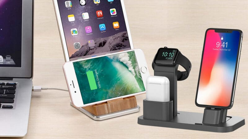 Best iPhone X, 8 Plus, and iPhone 8 Docking Stations