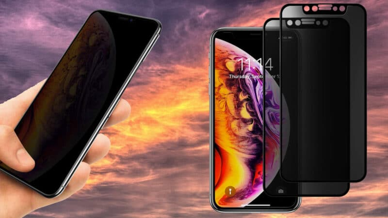 Best iPhone X, XS Privacy Screen Protectors