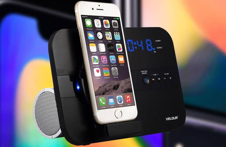 Best iPhone X, iPhone 8 Plus, and 8 Docking Stations with Speaker