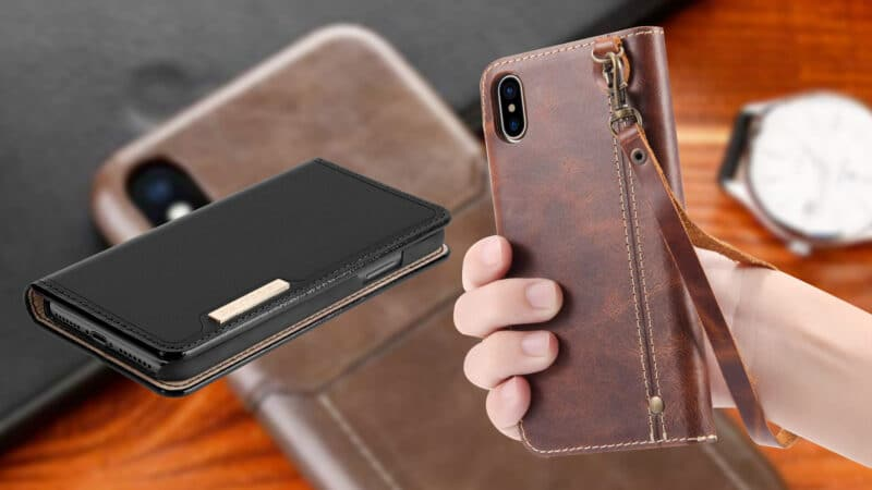 Best iPhone Xs Max Leather Cases