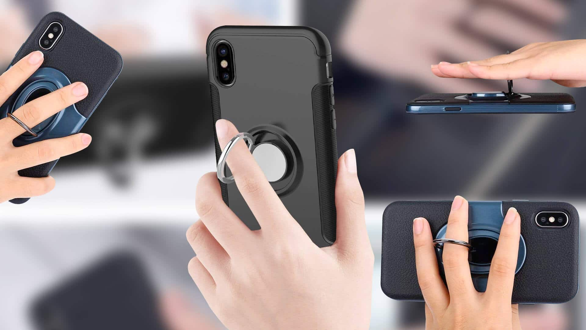 Best iPhone Xs Ring Holder Cases