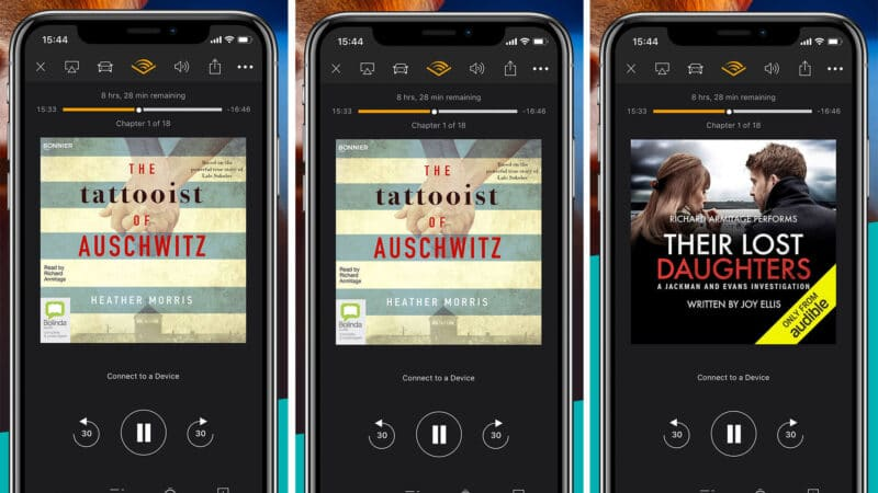 Best iPhone and iPad Audiobook Apps