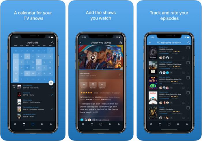 BetaSeries iPhone and iPad App Screenshot