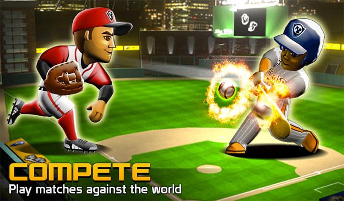 Big Win Baseball iPhone and iPad App Screenshot