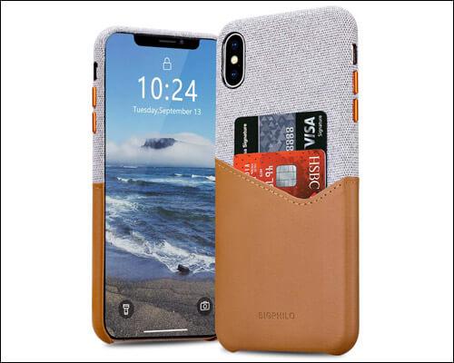 Bigphilo iPhone X, Xs Card Holder Case