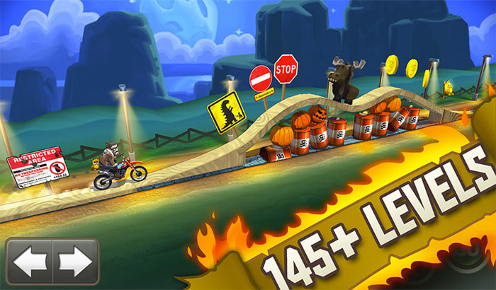 Bike Baron iPhone and iPad App Screenshot