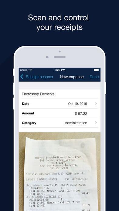 Billdu Expense Tracker iPhone App