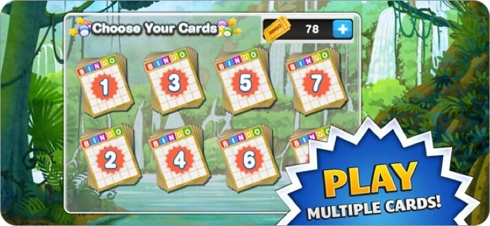 Bingo iPhone and iPad App Screenshot