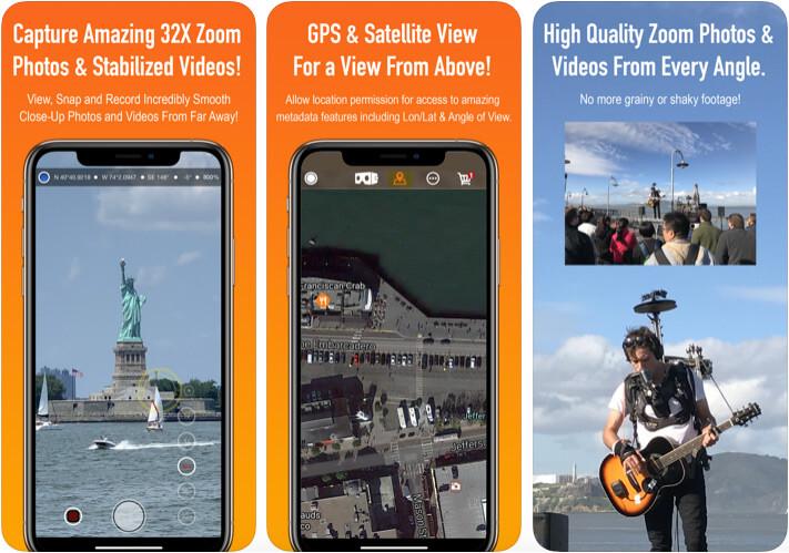 Binoculars iPhone App Screenshot