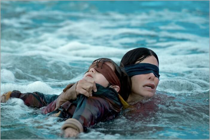Bird Box best thriller movies on Netflix
