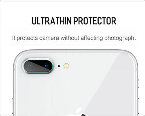 BisLinks Camera Lens Protector for iPhone 8 Plus
