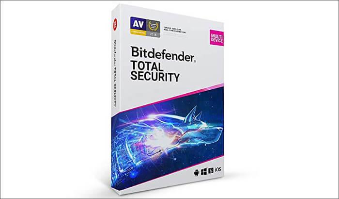 Bitdefender Total Security Paid Antivirus Software for Mac