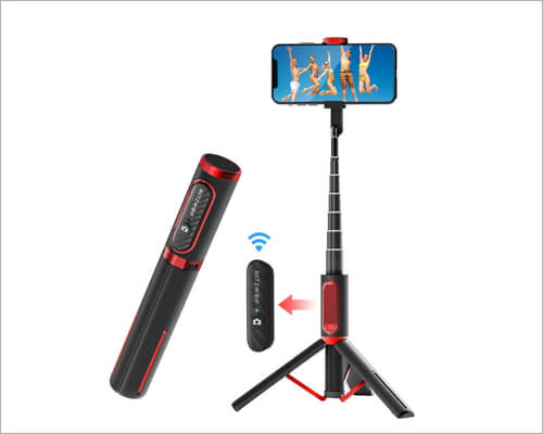 BlitzWolf Lightweight Tripod for iPhone 11, 11 Pro and 11 Pro Max