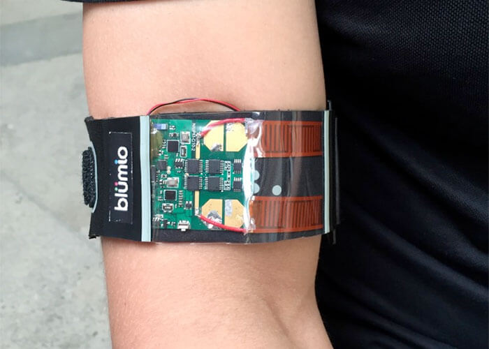 Blood Pressure Monitoring in Armband