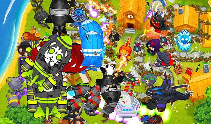 Bloons TD 6 Paid iPhone Game Screenshot