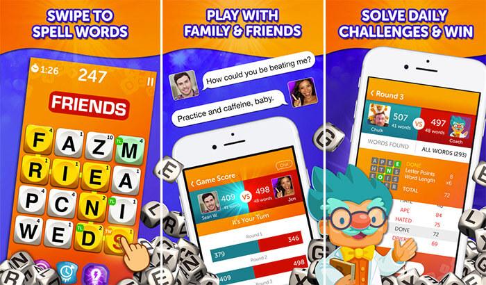 Boggle Board iPhone and iPad Game Screenshot