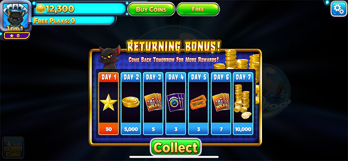 Bonus to Earn While Returning to Solitaire Time Warp Card Game