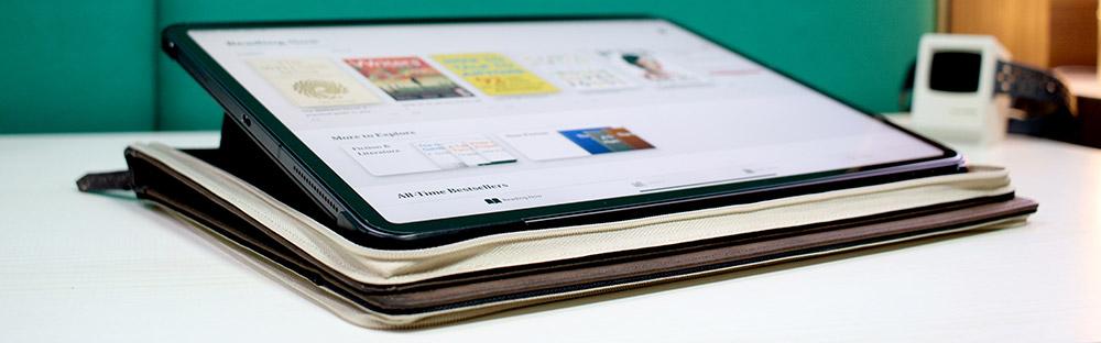 BookBook iPad Pro Case as Kickstand