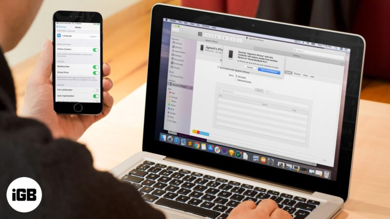 Books Not Syncing Between Mac and iPhone or iPad? How to Fix It