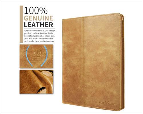 BoriYuan iPad 9.7-inch 2018 Leather Case