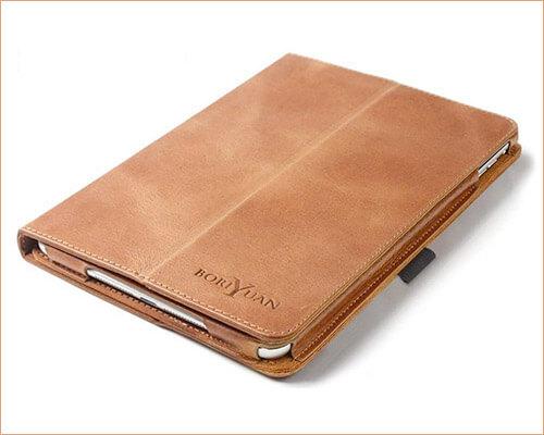 Boriyuan iPad Air 2 Leather Case