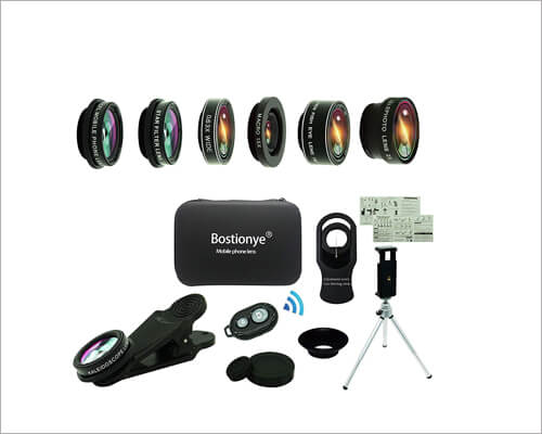 Bostiononye Camera Lens Kit for iPhone 11, 11 Pro and 11 Pro Max