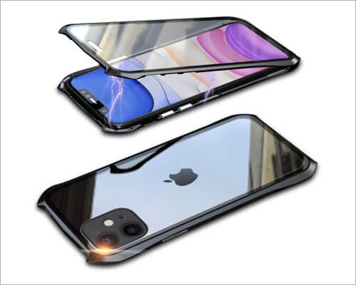 Bpowe Magnetic Case for iPhone 11